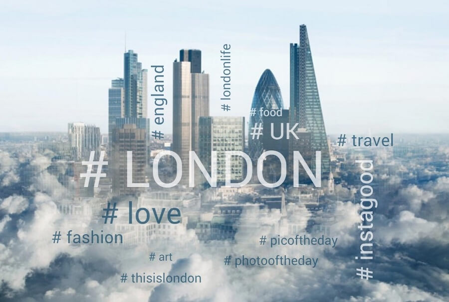 London_hashtags