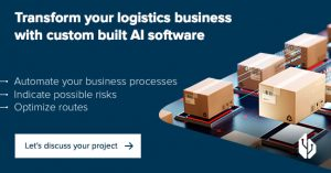 AI software logistics