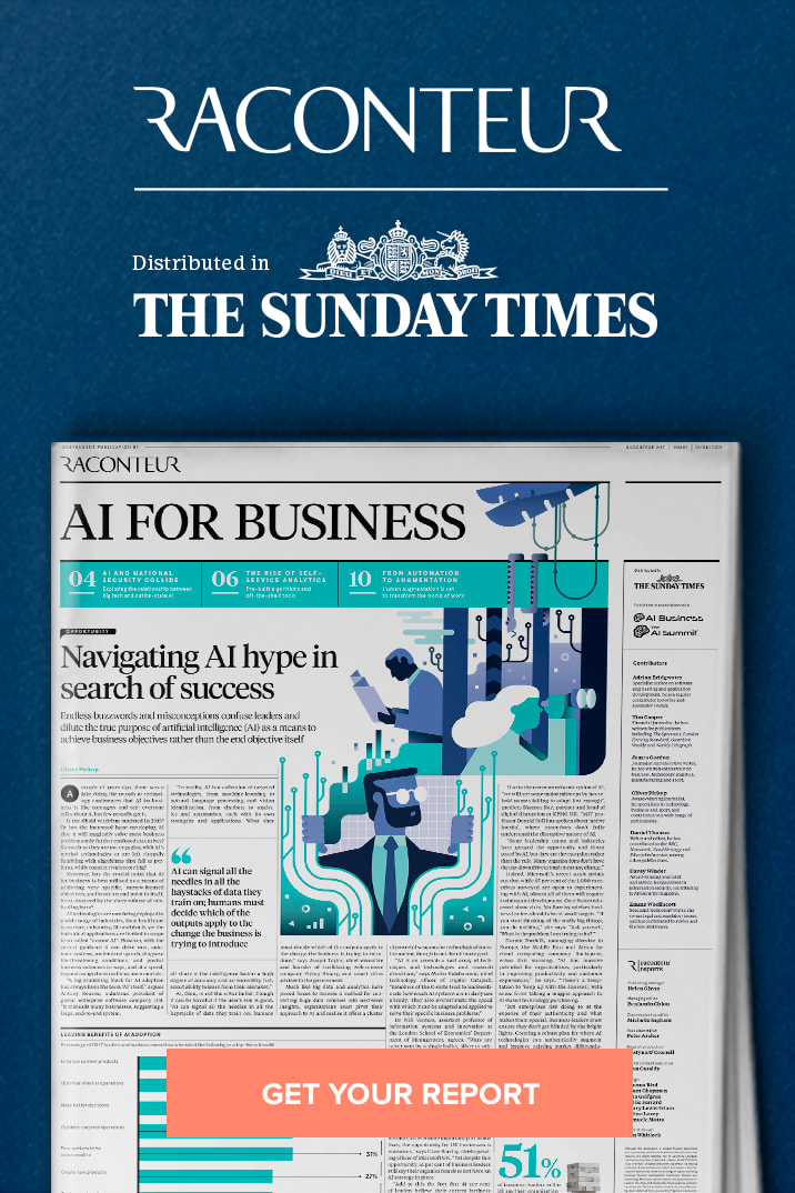 Raconteur The Sunday Times