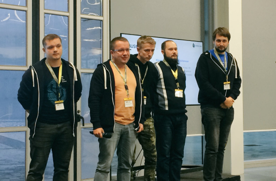 InData Labs at a Rolls-Royce Manufacturing Hackathon