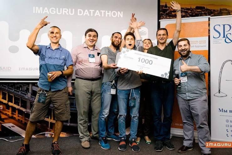 Participants of Imaguru datathon