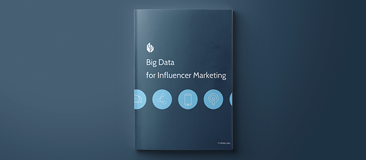 Big data for influencer marketing campaigns