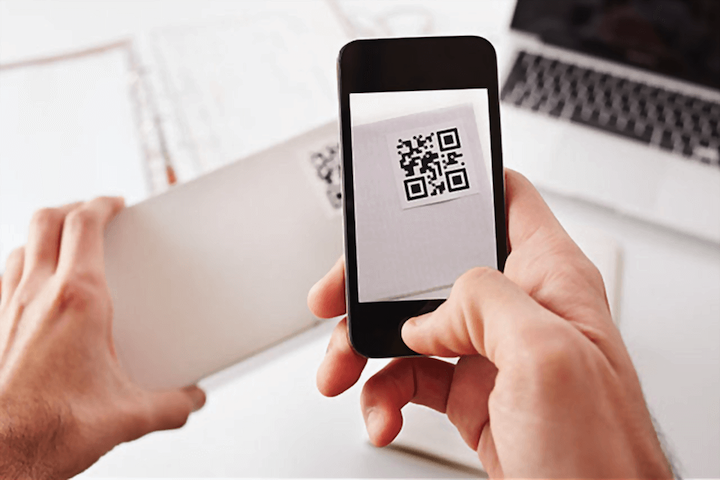 Detecting counterfeiters with QR codes