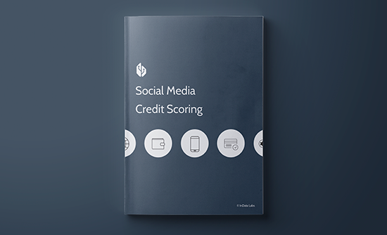 Social media credit scoring