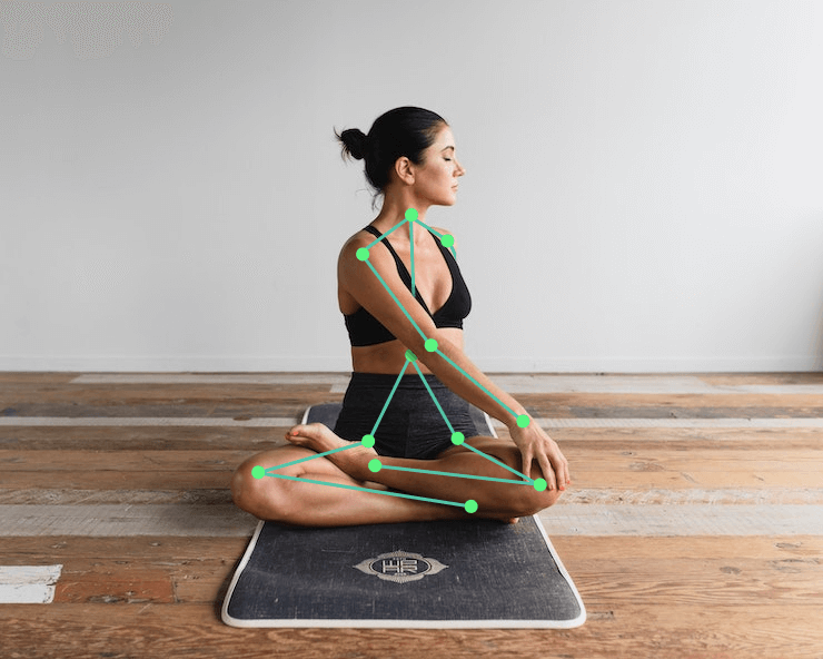 Yoga exercises using 3d pose estimation