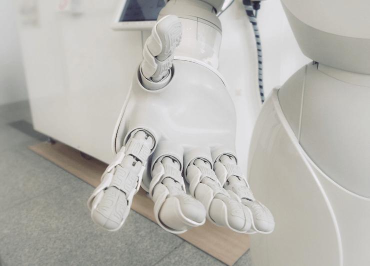 A hand of a robot