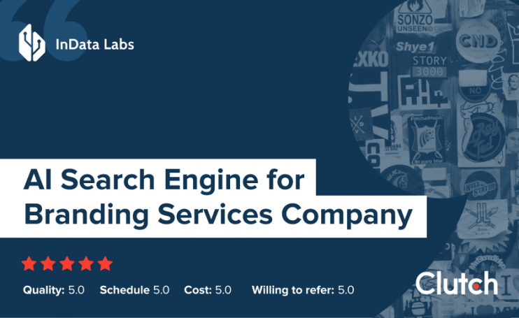 AI Search Engine for Branding Services Company