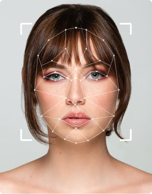 Identification of a girl's face