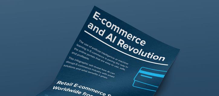 AI in E-commerce infographic