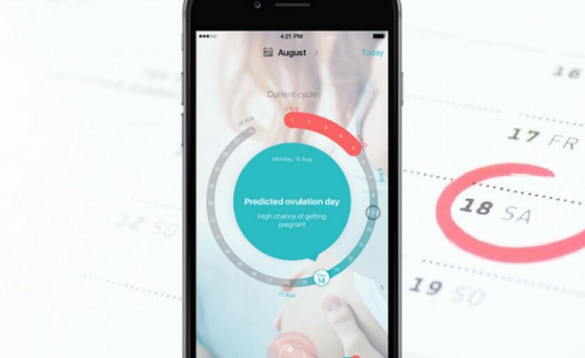 Screenshot of a FLO app