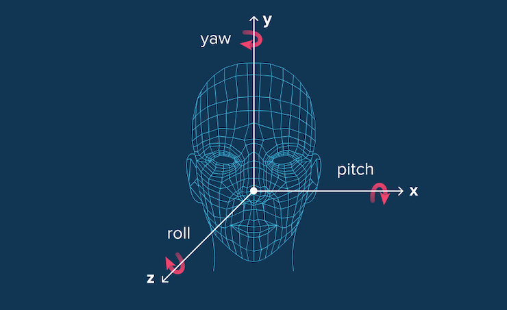 the task of 2D and 3D head pose estimation