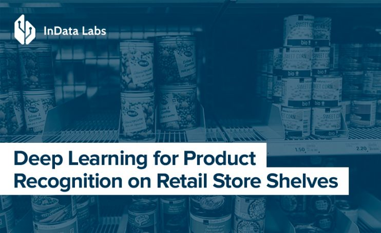 Product recognition with deep learning