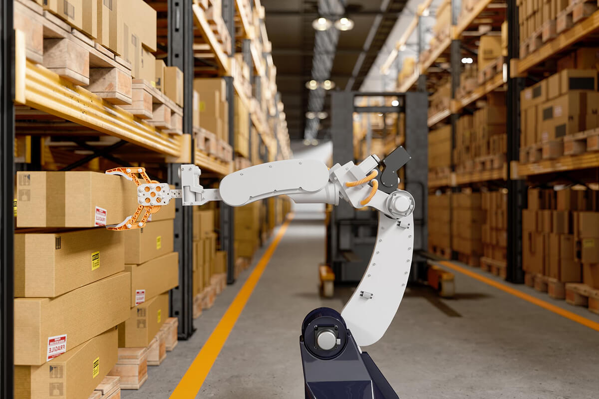 AI Logistics Robots