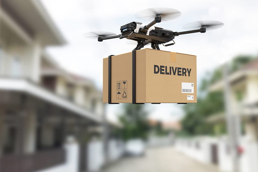 Delivery with Drones