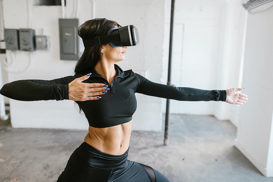 Yoga with VR
